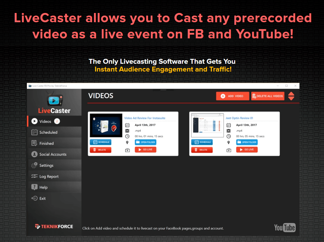 Livecaster coupon discount code 30 off promo deal coupon codes code show coupon code malvernweather Choice Image