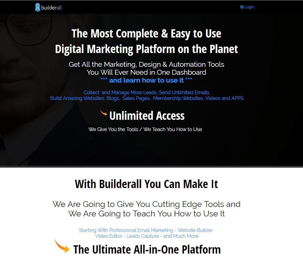 Builderall Internet Marketing Platform - Special Promo