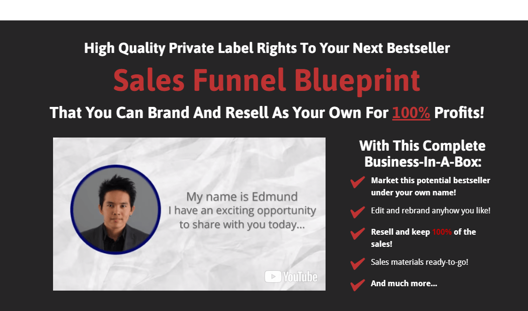 Sales funnel blueprint coupon discount code 90 off promo deal code show coupon code malvernweather Images