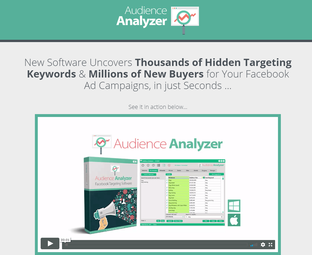 Audience analyzer coupon discount code 54 off promo deal promo malvernweather Choice Image