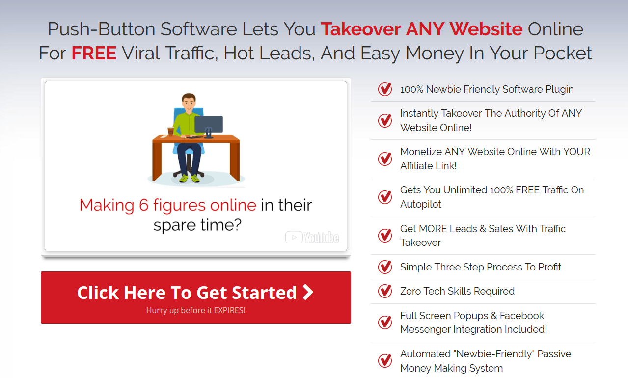 traffic takeover pro coupon discount code 34 off promo deal